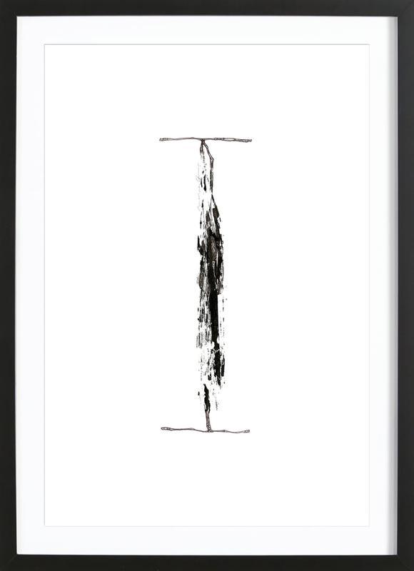 I Framed Print