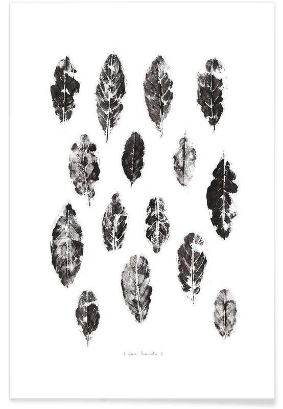 Feuilles & Plantes, Das Laub affiche