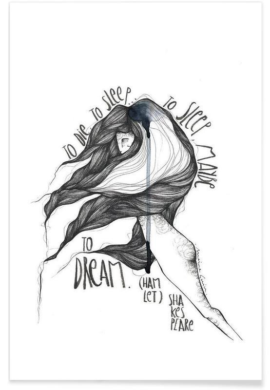 Zwart en wit, Quotes en slogans, Hamlet poster