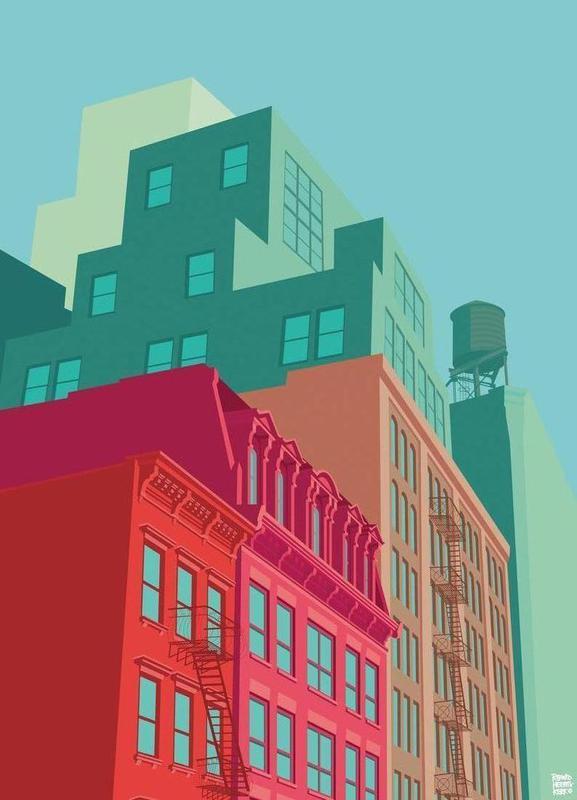 Mulberry Street Soho New York City Canvas Print