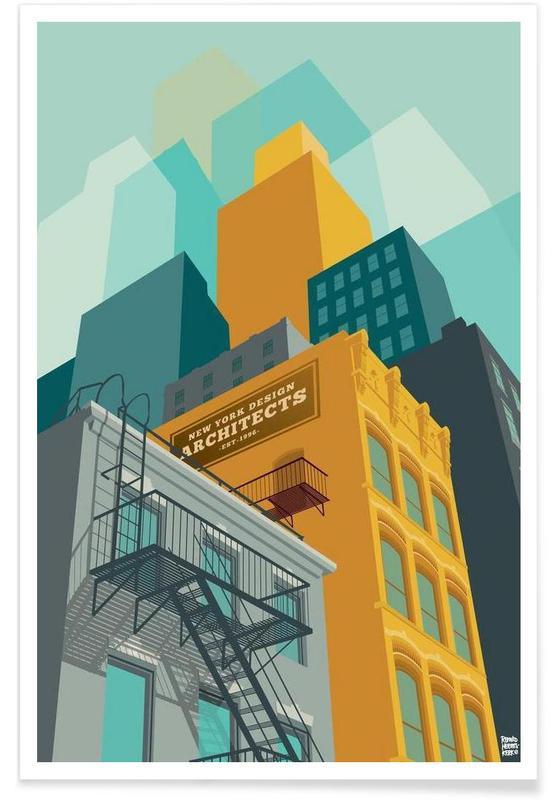 New York, Tribeca New York City Poster