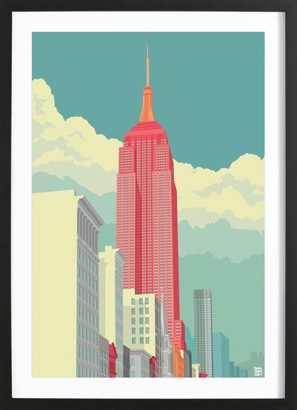 5th Avenue New York City Framed Print