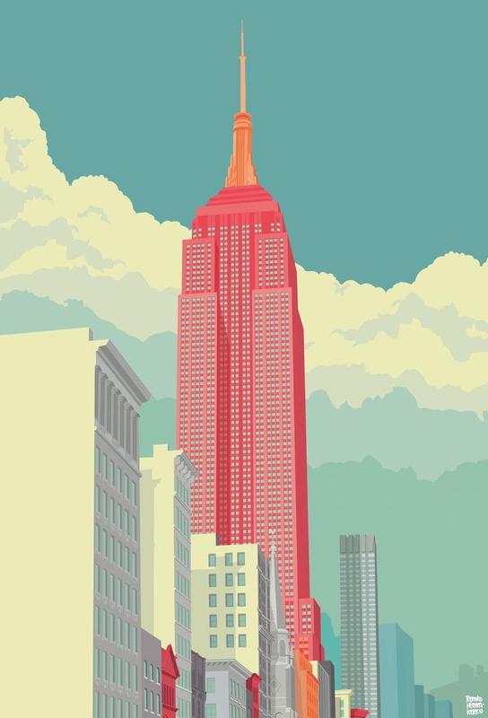 5th Avenue New York City -Acrylglasbild