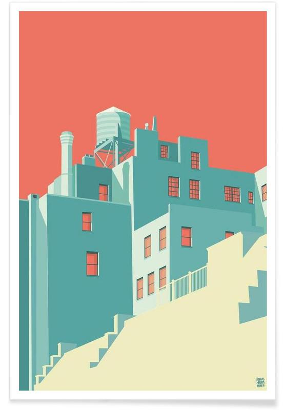 The Village New York City Poster