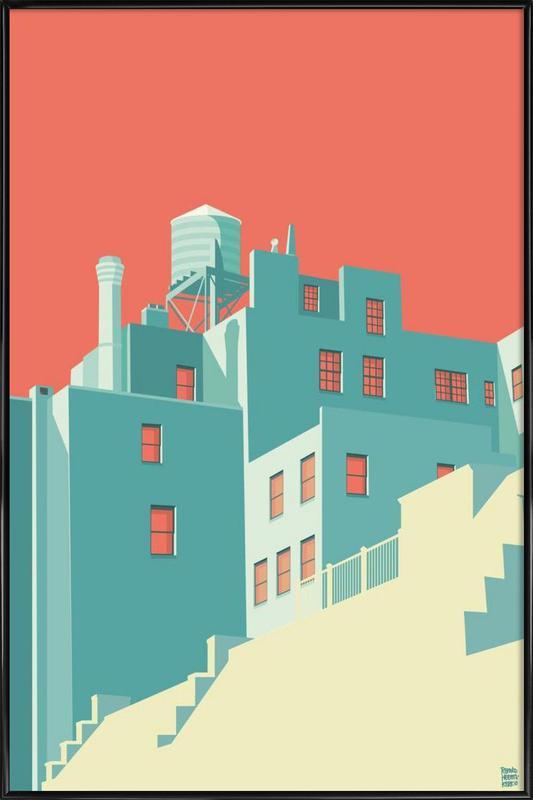 The Village New York City Framed Poster