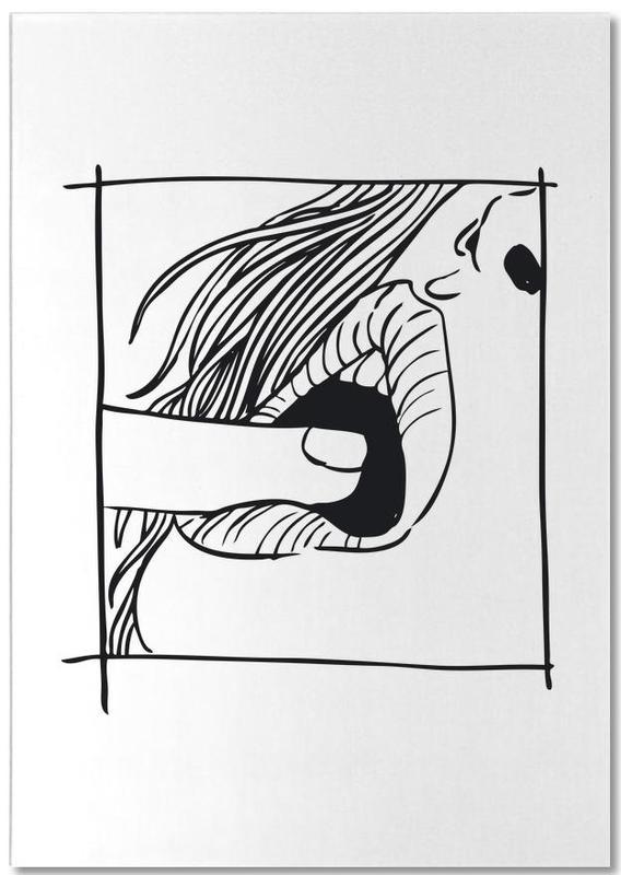 Détails corporels, Couples, Mouth bloc-notes