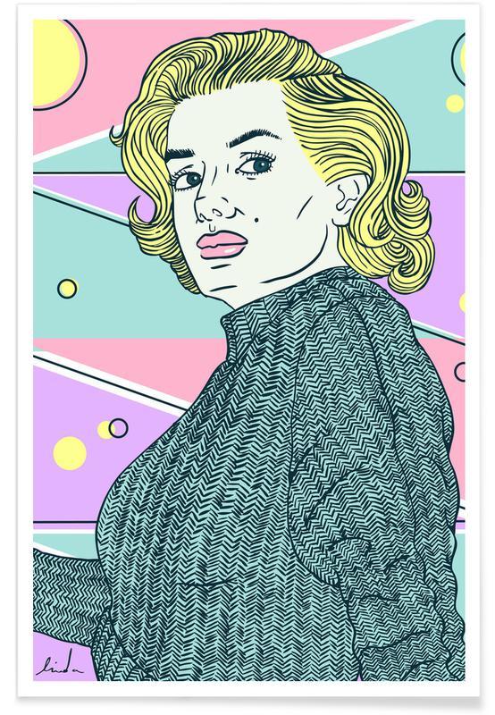 Marilyn Monroe, Films, Marylin Monroe affiche