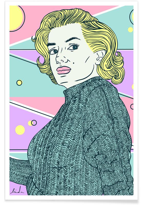 Films, Marilyn Monroe, Marylin Monroe poster