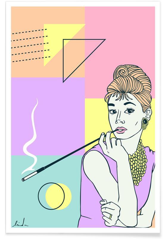 Audrey Hepburn, Films, Audrey Hepburn affiche