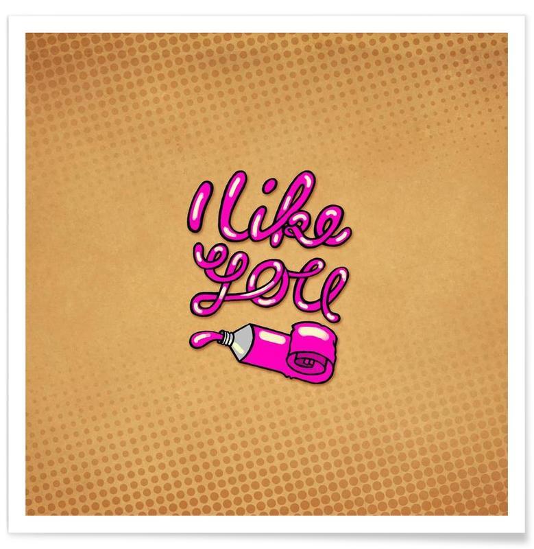 I like you affiche