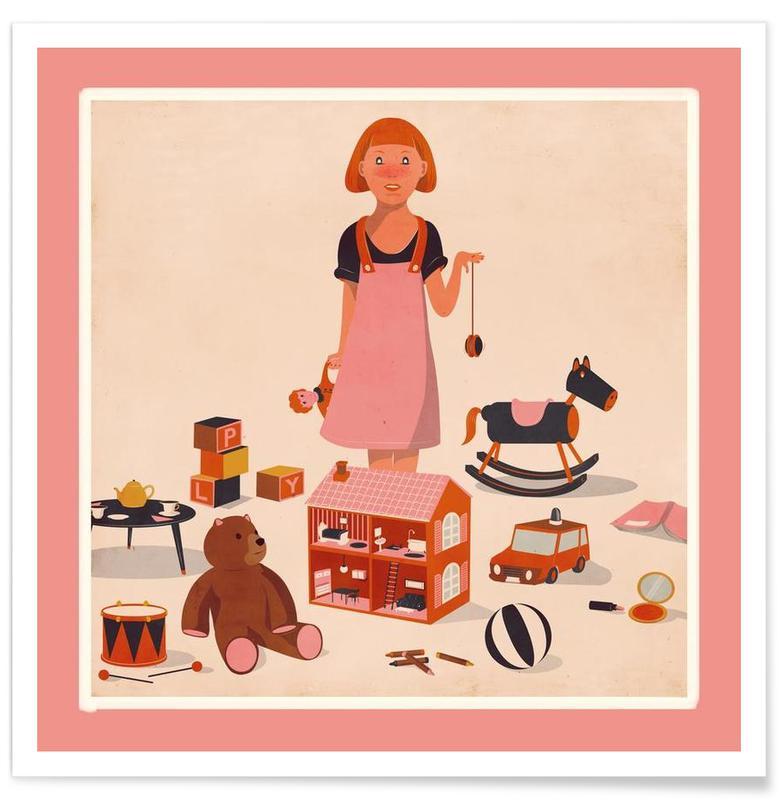 Art pour enfants, Doll House affiche
