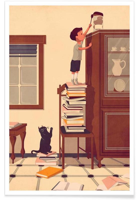 Kunst voor kinderen, Sweet Babel poster
