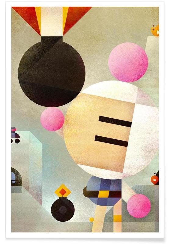 Rétro, Bomberman affiche