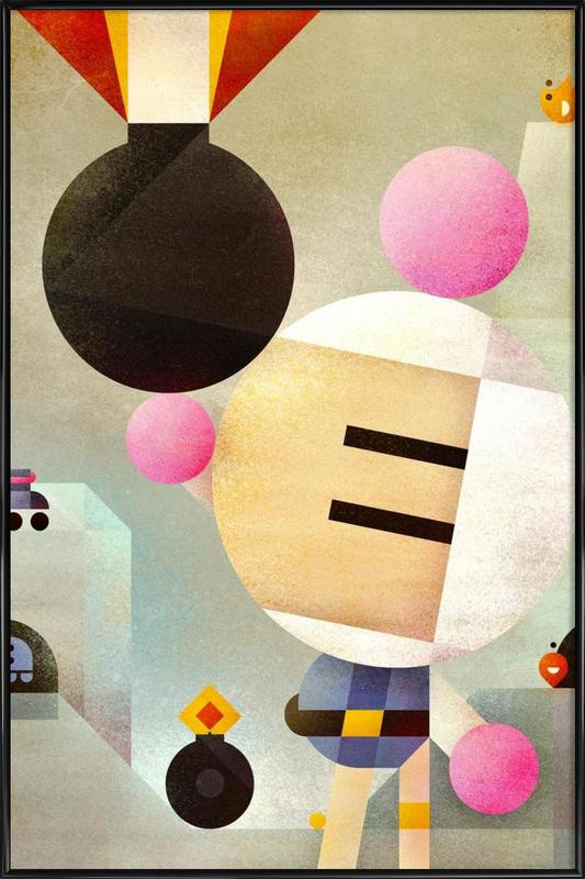 Bomberman Framed Poster