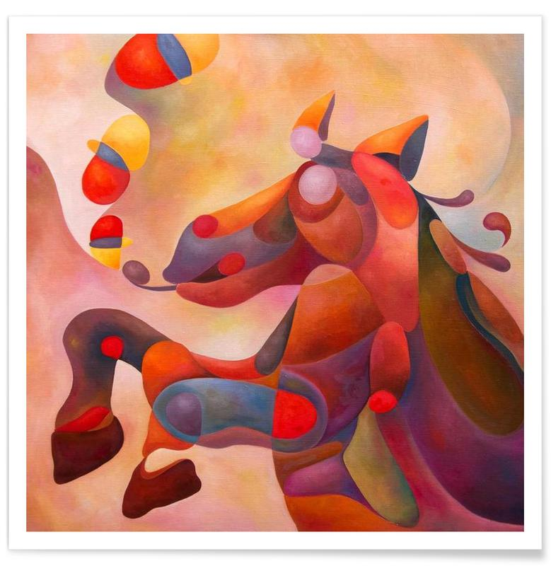 Paarden, Crazy Horse poster