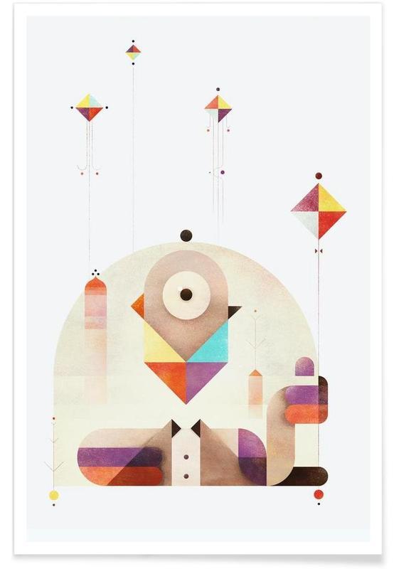 Retro, Kite Master poster