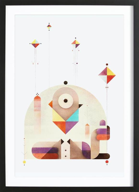 Kite Master Framed Print