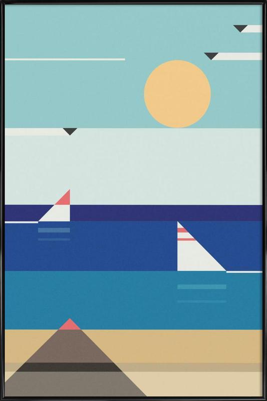 Quiet Sea Framed Poster