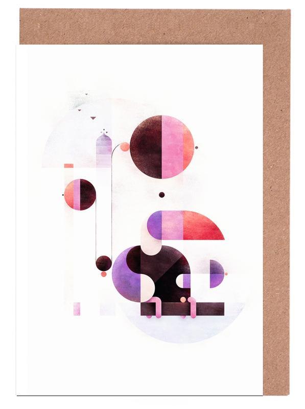 Rainbow Swinger -Grußkarten-Set