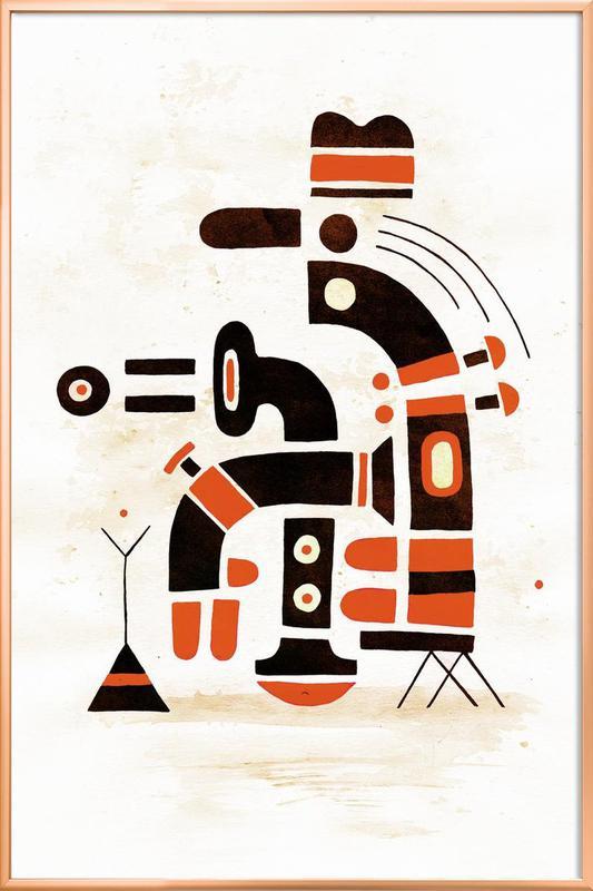 Simplexity -Poster im Alurahmen