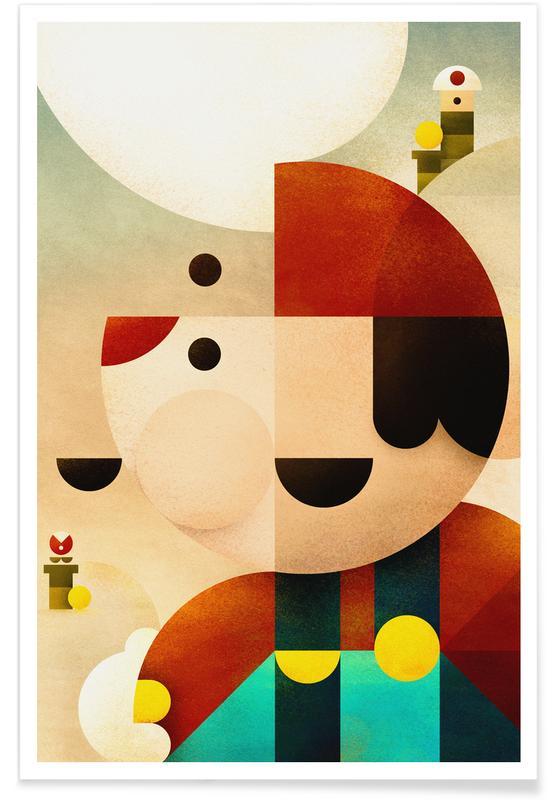 Mario, Mario poster