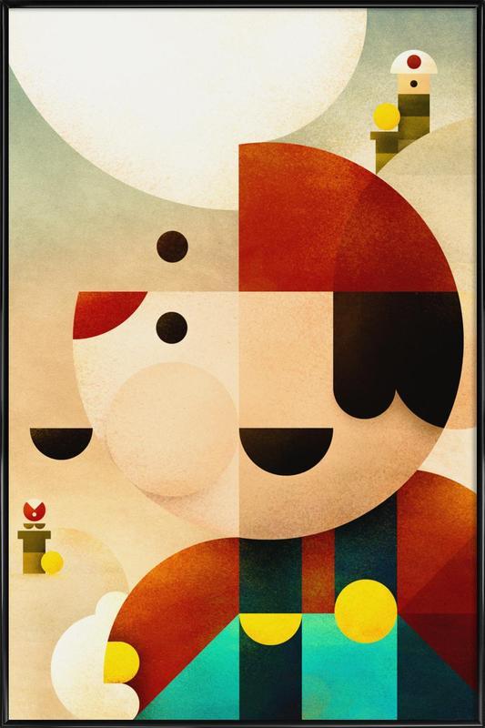Mario Framed Poster