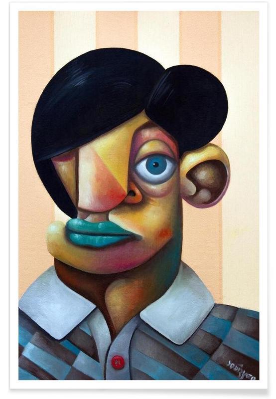 Porträts, Antonio -Poster