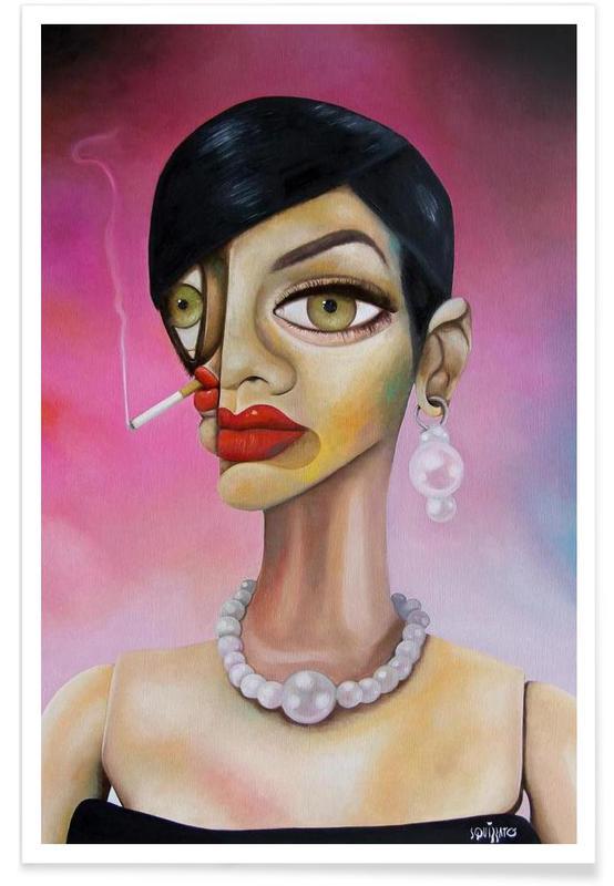 Portretten, Barbiegirl poster