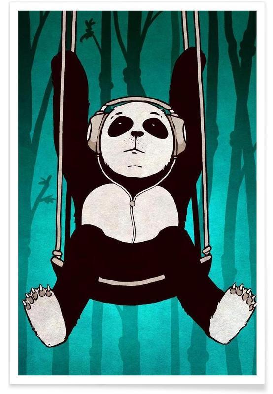 Panda swing -Poster