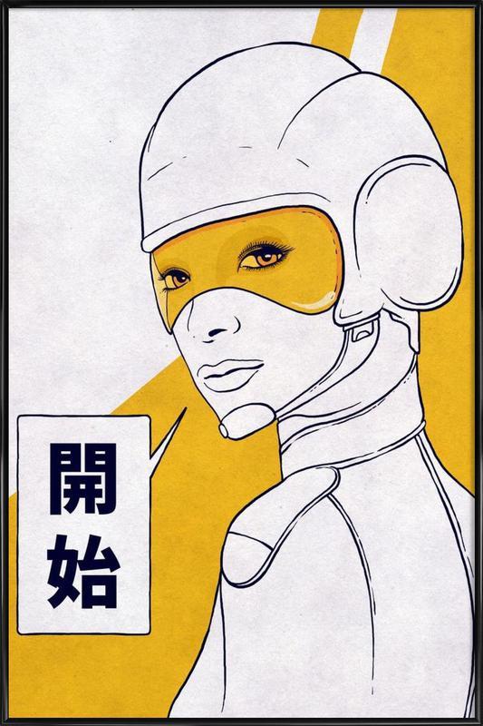 Start Framed Poster