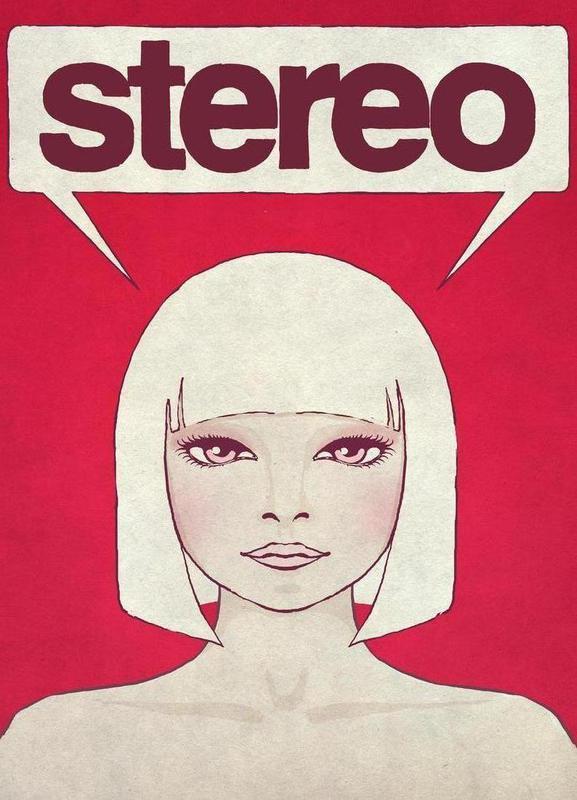 Stereo -Leinwandbild