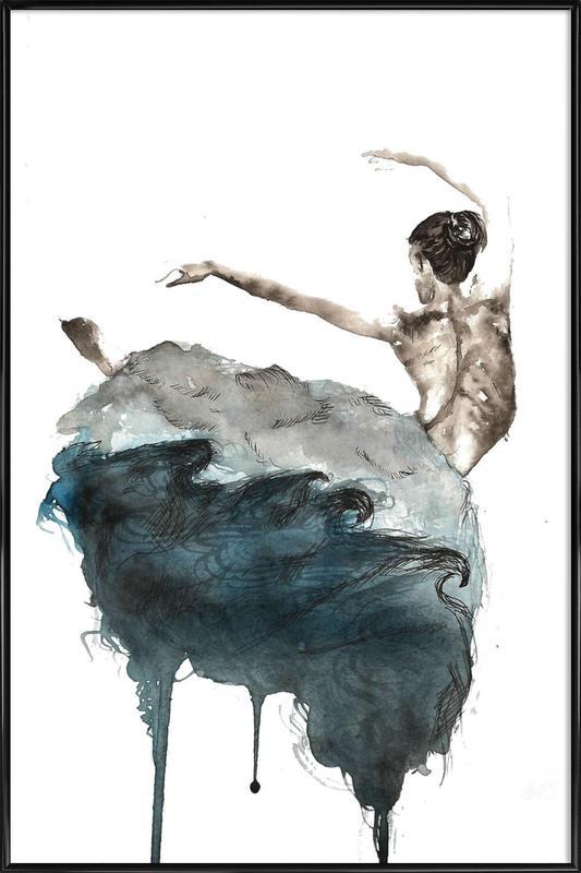 Ballerina Framed Poster