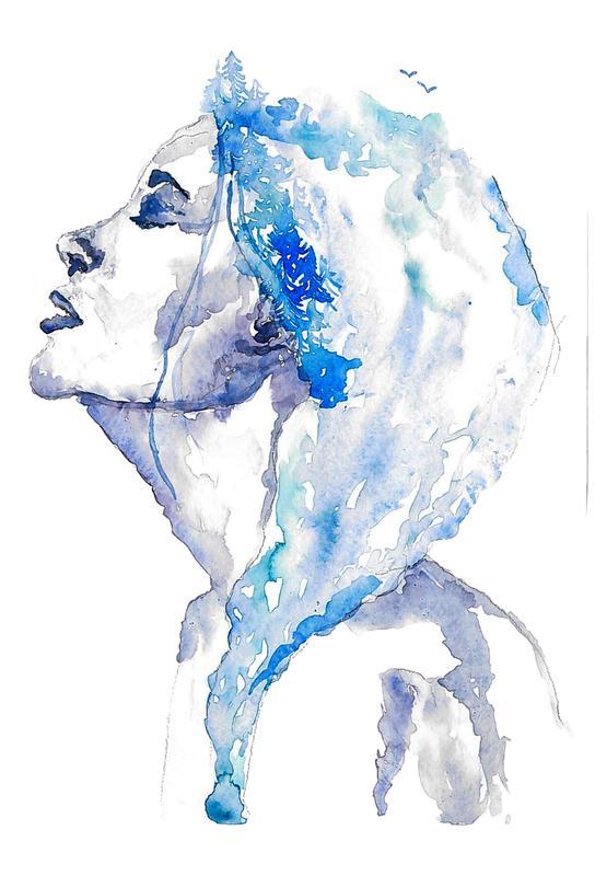 Blues -Acrylglasbild