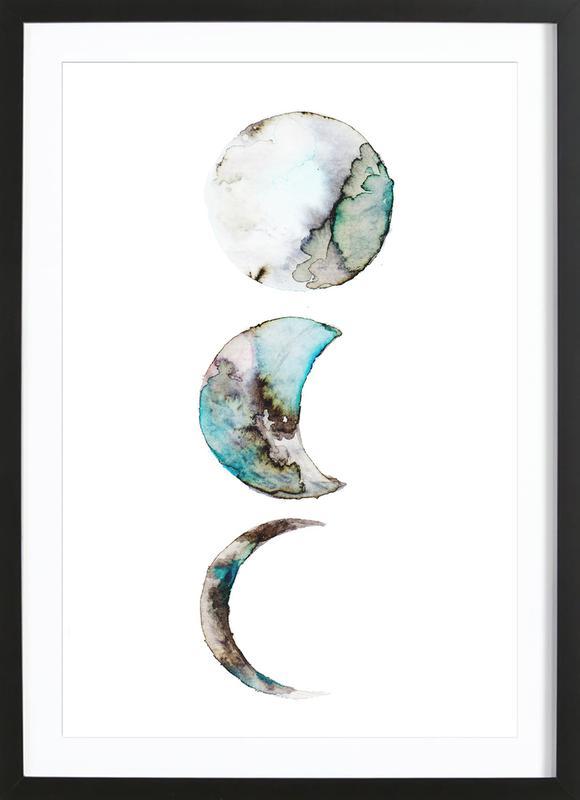 Moon Framed Print