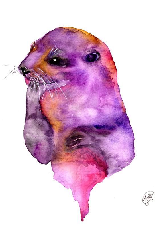 Otter -Acrylglasbild
