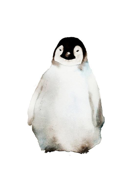 Penguin -Acrylglasbild