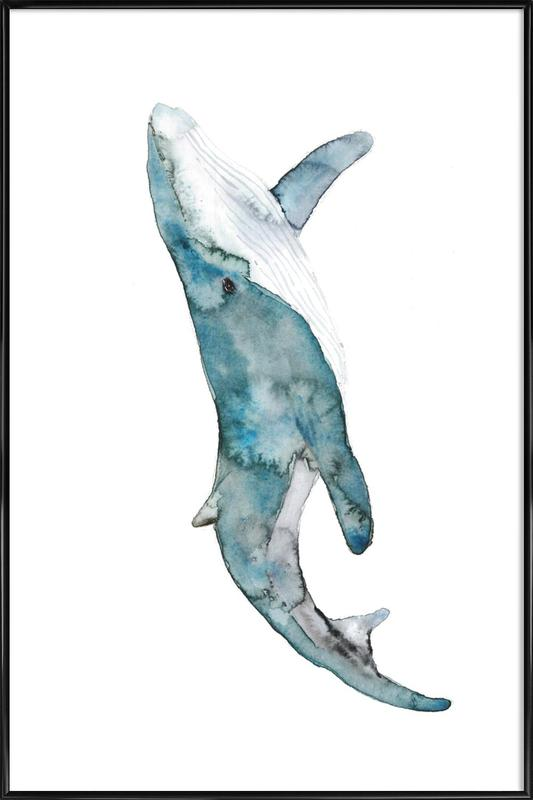 Whale Framed Poster