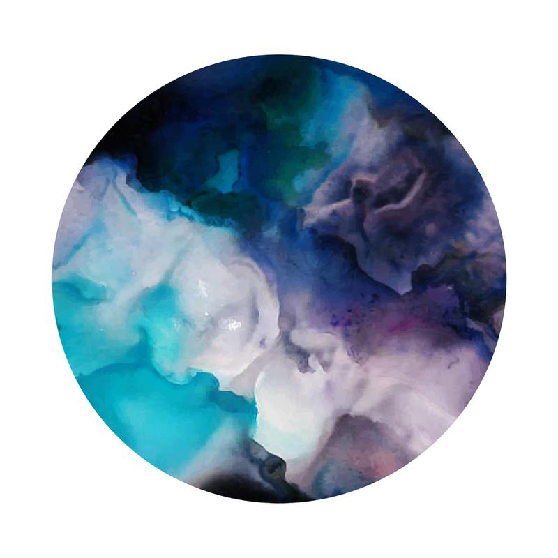 Whirl -Acrylglasbild