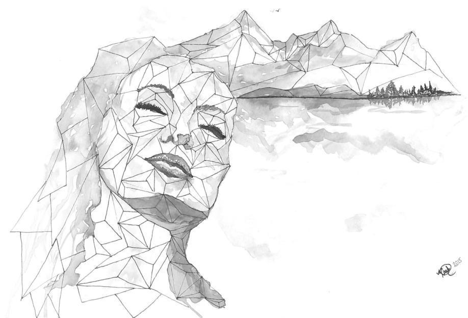 I am a Dreamer -Acrylglasbild