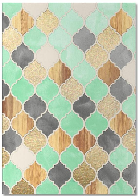 Patterns, Textured Moroccan Pattern Notepad