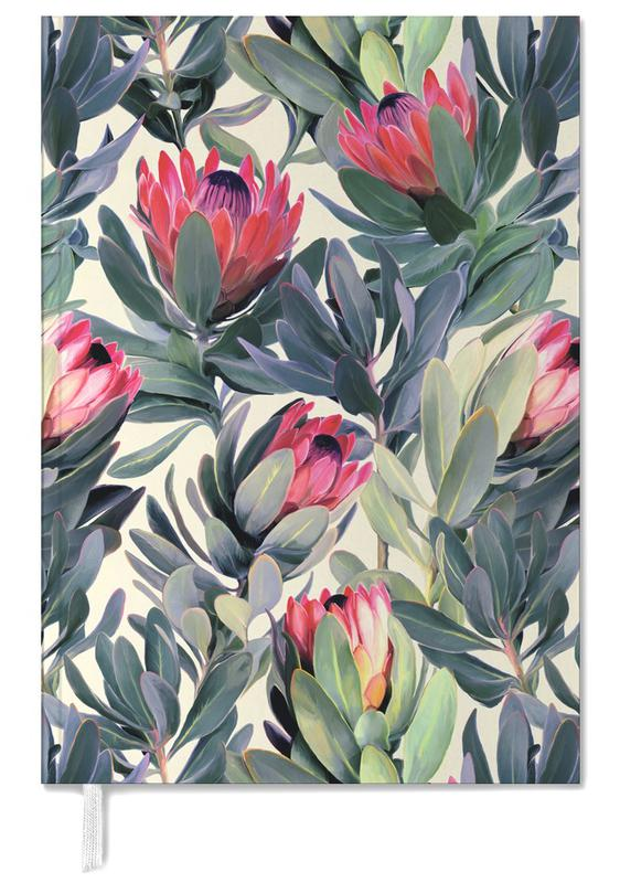 Painted Protea Pattern agenda