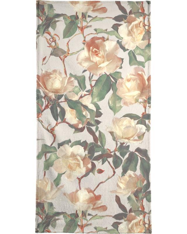 Vintage Roses -Handtuch