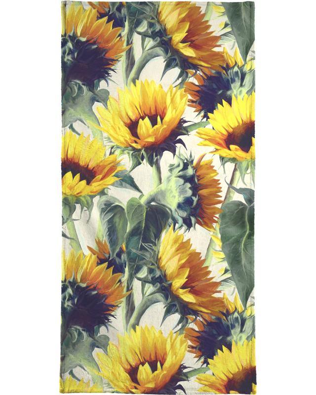 Sunflowers, Sunflowers Forever Beach Towel