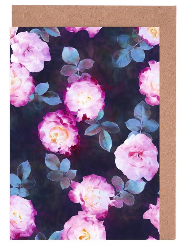 Twilight Roses Greeting Card Set
