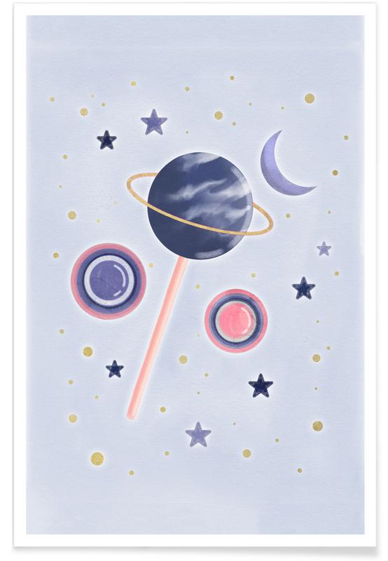 Lollipop Planet poster