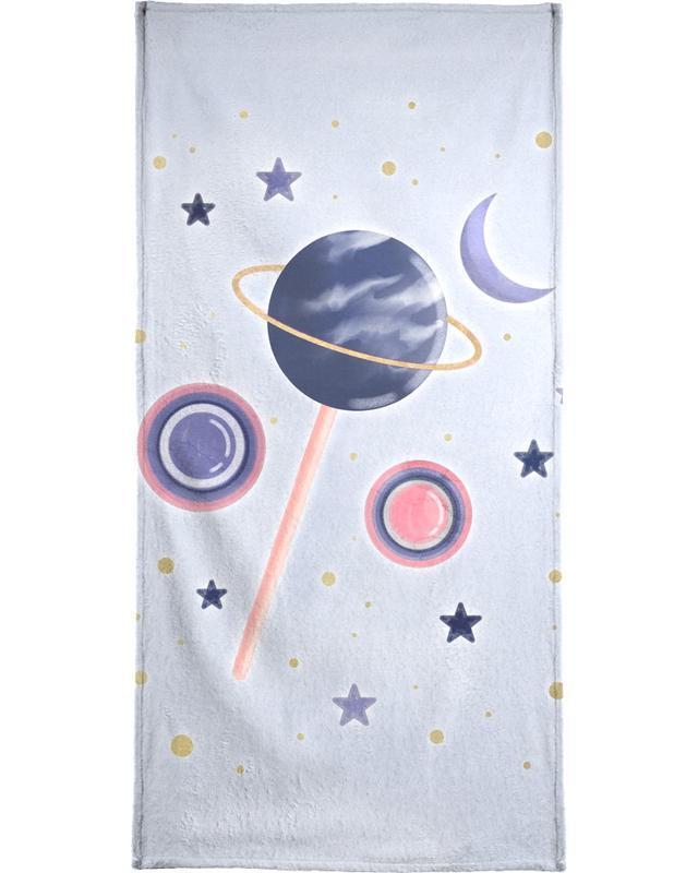 Lollipop Planet -Handtuch