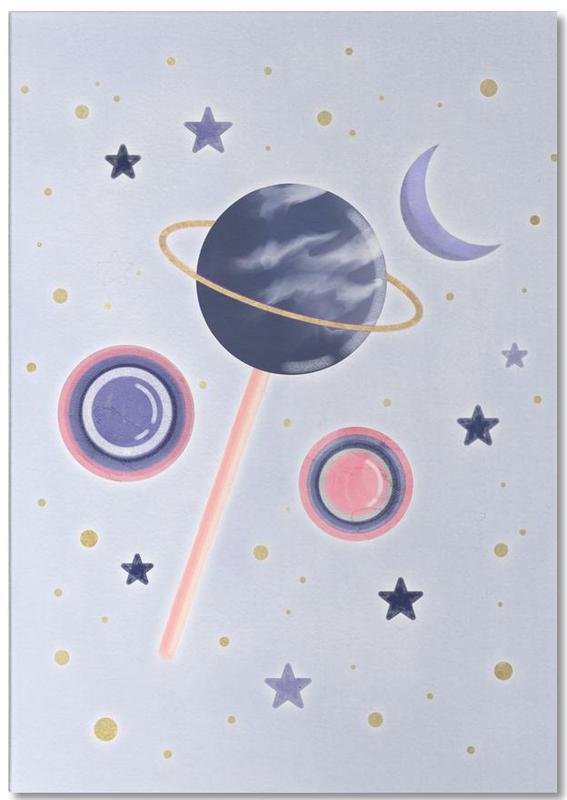 Lollipop Planet -Notizblock