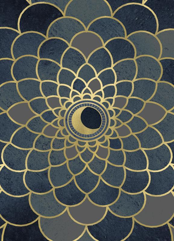 Mystic Moon canvas doek