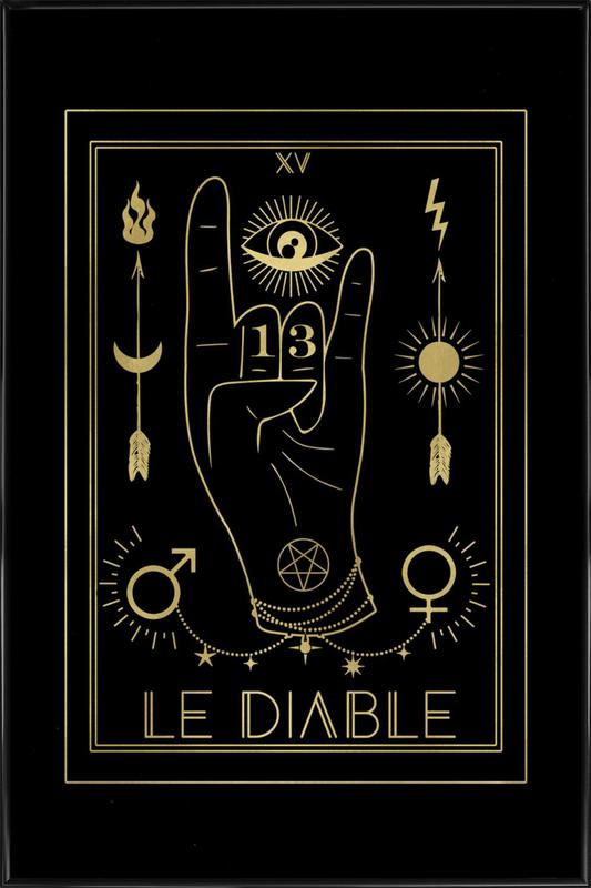 Le Diable ingelijste poster