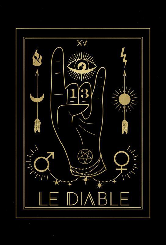 Le Diable -Acrylglasbild